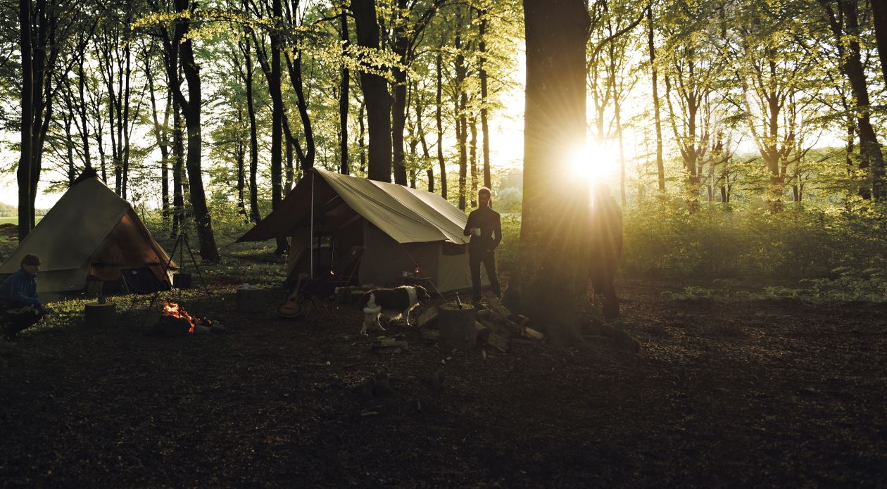 Bushcraft with Robens tents