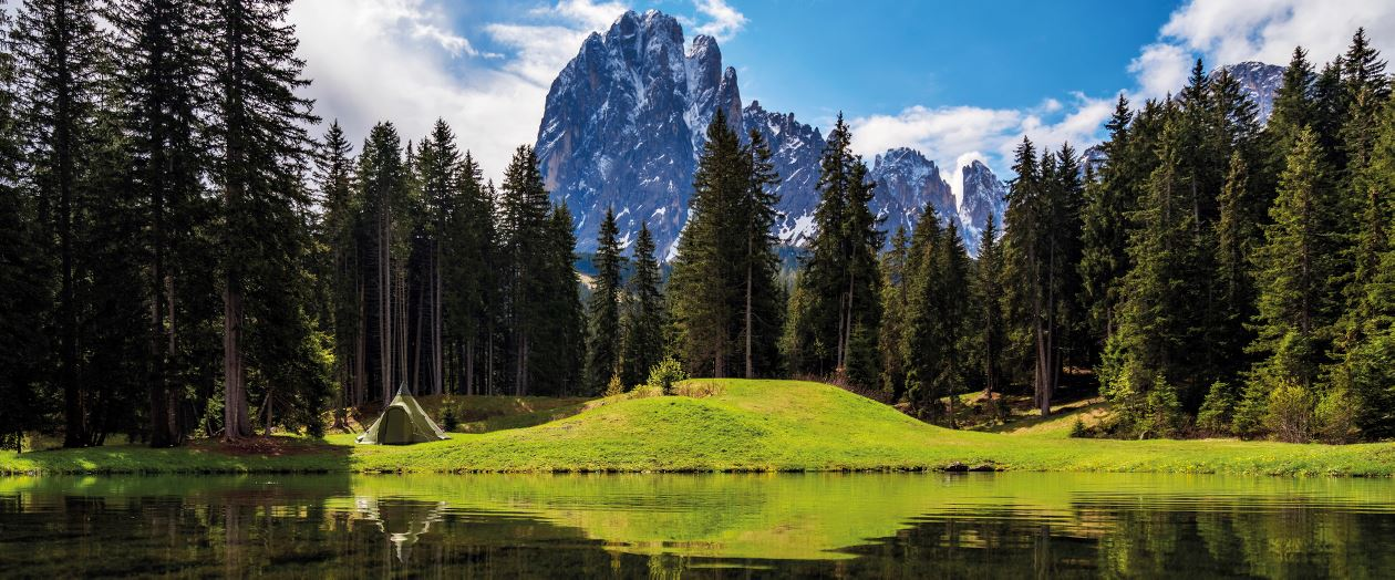 Landscape from Dolomites, Italy